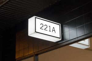 221A Illuminated Signage