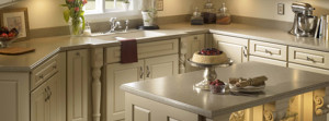 Lg Hi Macs Casera Solid Surface Kitchen Countertop