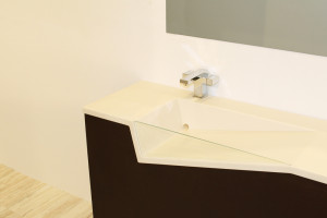 Slant - Integrated Sink Countertop Concept - Detail